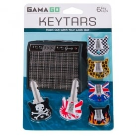 Cubic Keytars Guitar Key Caps - Pack of 6