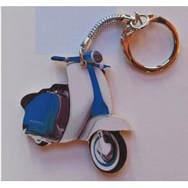 Lark Designs Lambretta Cut Out Keyring