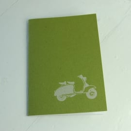The Art Rooms Lambretta Notebook