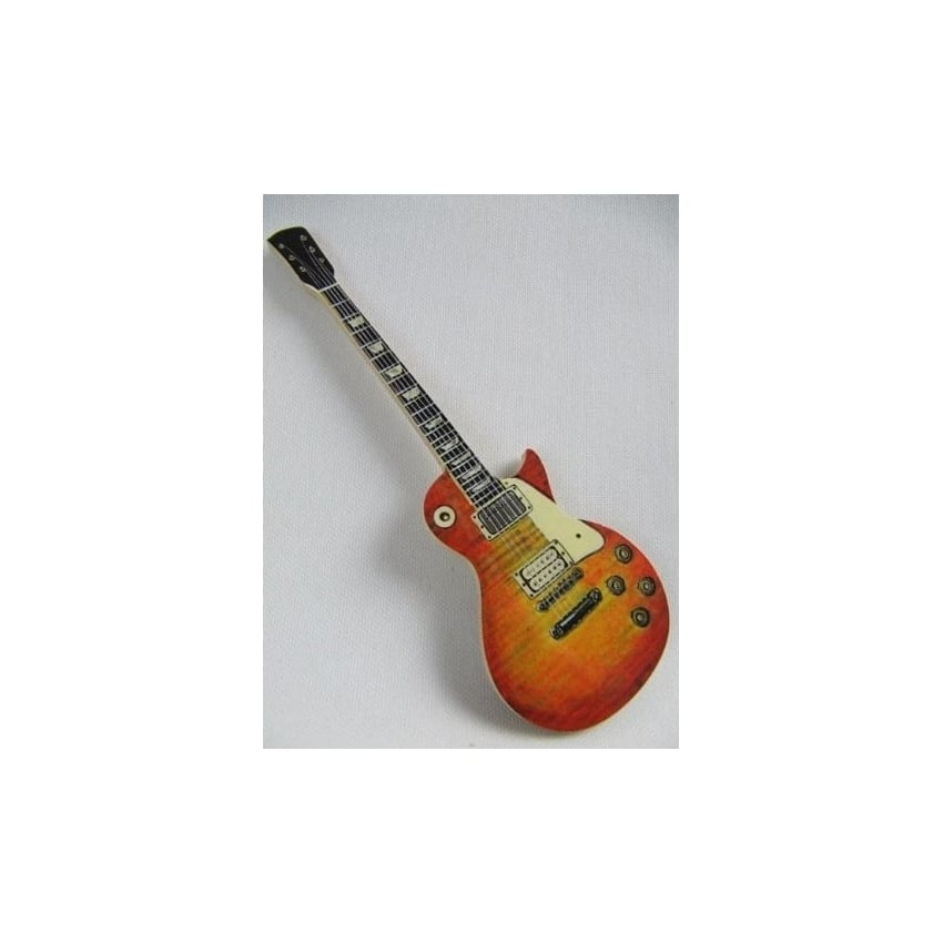 Lark Designs Les Paul Guitar Cut Out Fridge Magnet