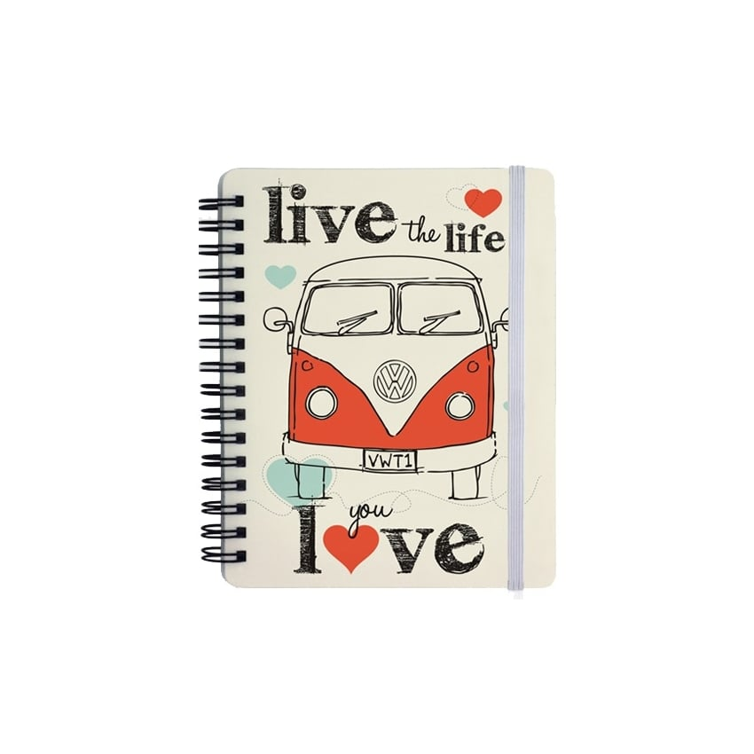 Elgate Live the Life You Love VW Campervan Notepad