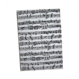 Music Gifts Company Manuscript A6 Journal