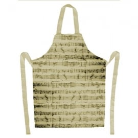 Music Gifts Company Manuscript Kitchen Apron