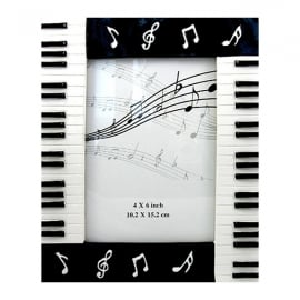 "Clere Concepts Manuscript Piano Photo Frame - 4"" x 6"""