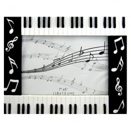 "Clere Concepts Manuscript Piano Photo Frame - 5"" x 7"""