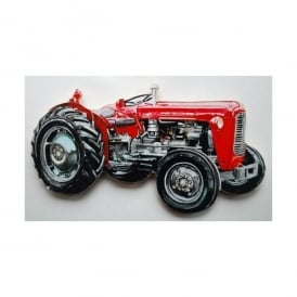 Lark Designs Massey Ferguson 35 Cut Out Jumbo Fridge Magnet