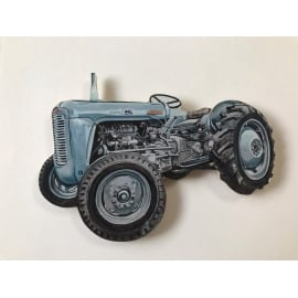 Lark Designs Massey Ferguson Cut Out Jumbo Fridge Magnet