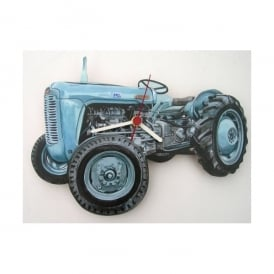 Lark Designs Massey Ferguson Cut Out Wall Clock