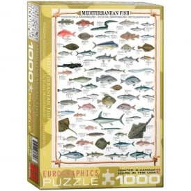 EuroGraphics Mediterranean Fish Jigsaw - 1000 Pieces