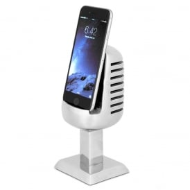 Pendulux Microphone Cast Aluminium Phone Holder