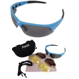 Mile High Edge Blue Golf Sunglasses