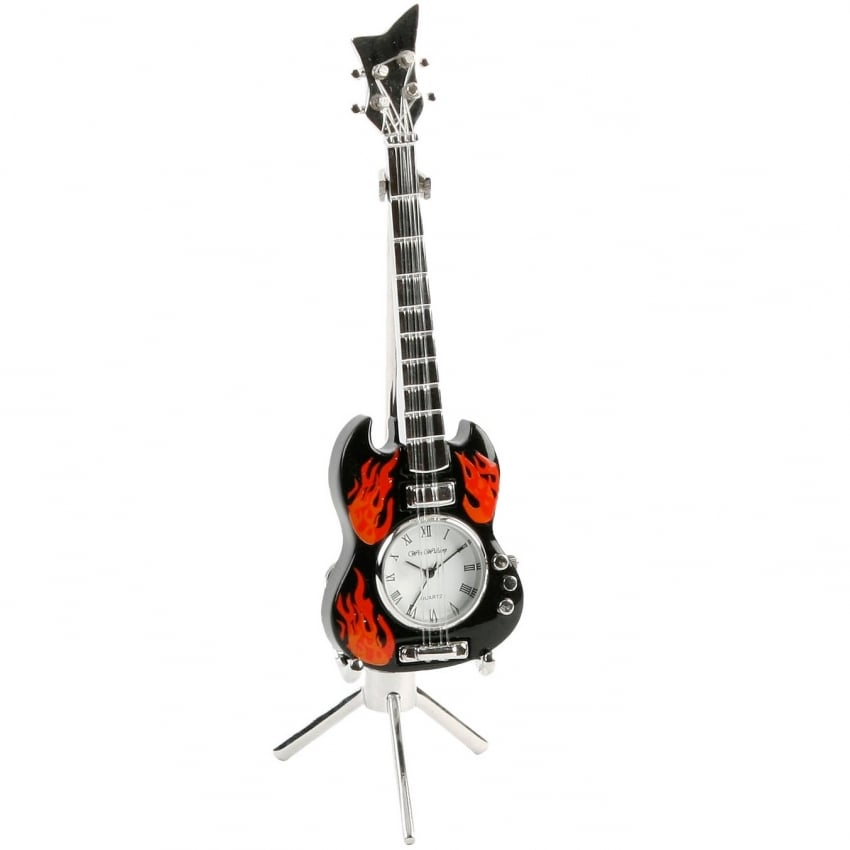 Widdop Miniature Desk Clock - Gibson Guitar