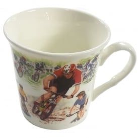Little Snoring Mountain Bike Montage Mug