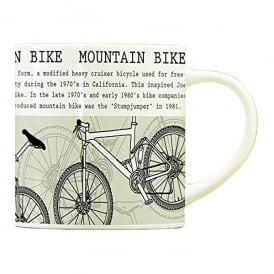 Millbrookgifts Mountain Bike Mug - Little Histories Collection