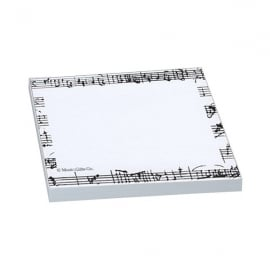 Music Gifts Company Mozart Manuscript Sticky Notes