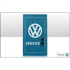 Elgate Mr Bubblehead VW Service Tea Towel