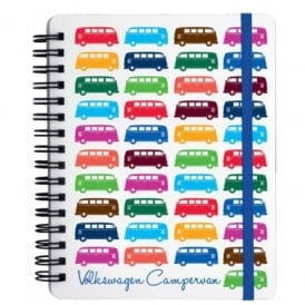 Elgate Multi Coloured VW Campervan Notepad