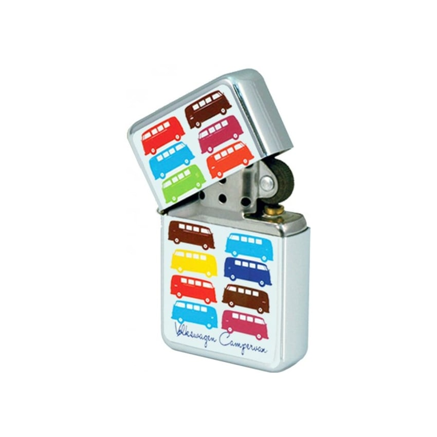 Elgate Multi Coloured VW Campervan Windproof Lighter