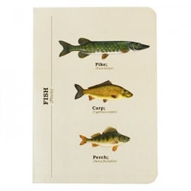 Gift Republic Multi Fish A6 Notebook