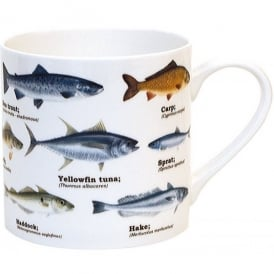 Gift Republic Multi Fish Bone China Mug