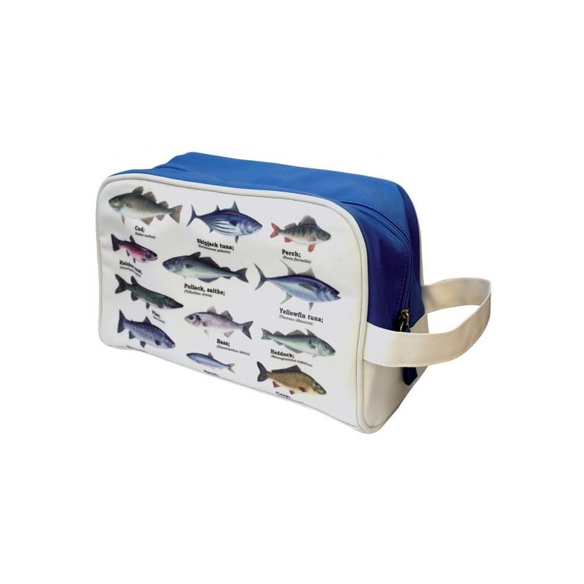Gift Republic Multi Fish Wash Bag