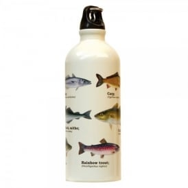 Gift Republic Multi Fish Water Bottle