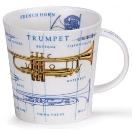 Dunoon Music Icons Trumpet Cairngorm Mug