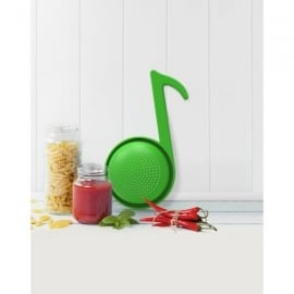 Rocket Music Note Colander in Green