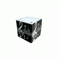 Music Gifts Company Music Notes Padblock