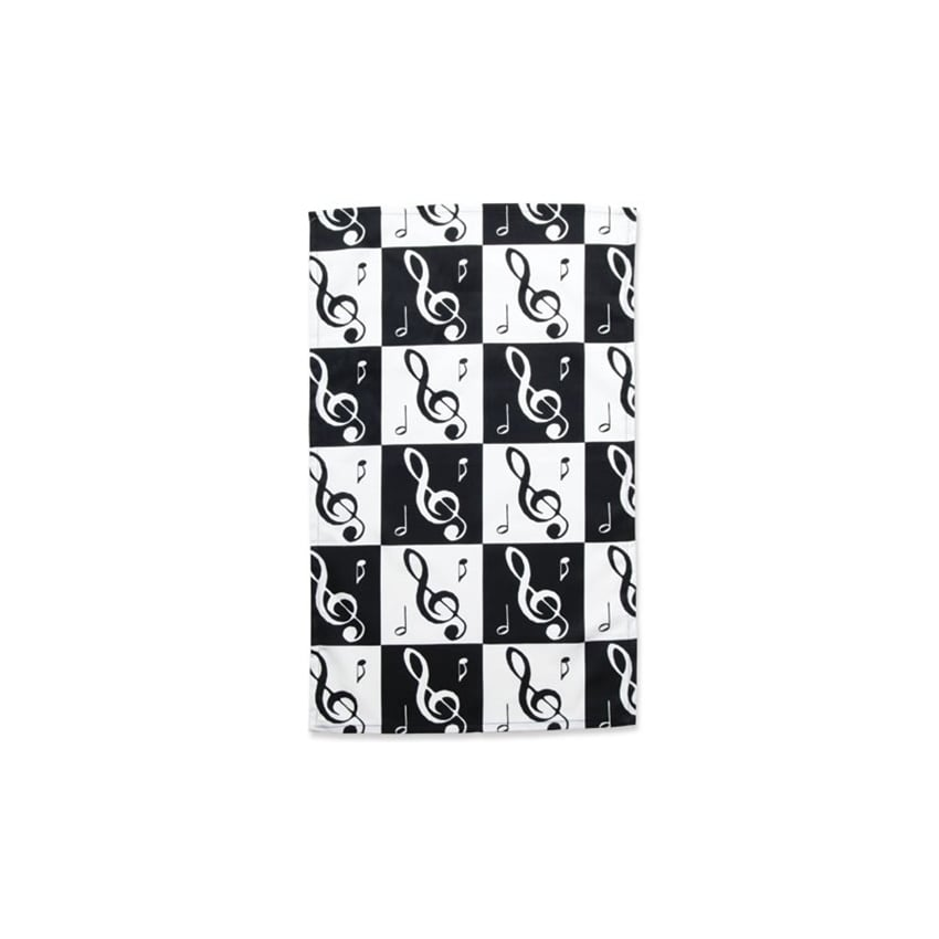Music Gifts Company Music Notes Tea Towel