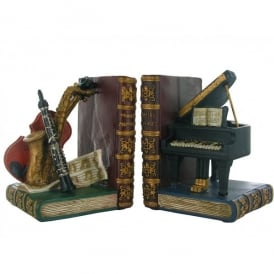 Fiesta Studios Musical Instrument Heavy Bookends