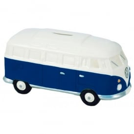 Elgate Navy & White VW Campervan Money Box