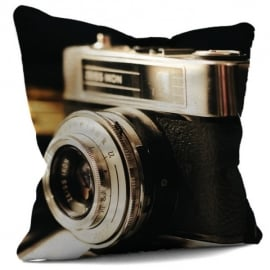 House Of Cushions Nikon Camera Filled Cushion