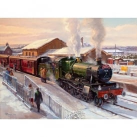Rothbury Publishing Norton Manor on the Christmas Quantock Belle Christmas Cards - Pack of 4