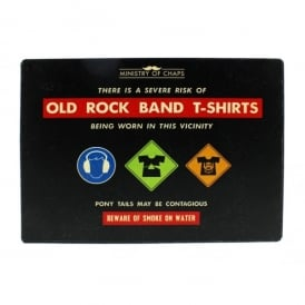 Widdop Old Rock Band Wall Plaque