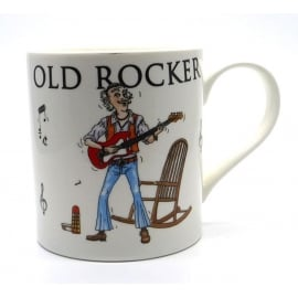 Little Snoring Old Rocker Young At Heart Mug
