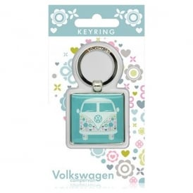 Elgate Patterned VW Campervan Keyring