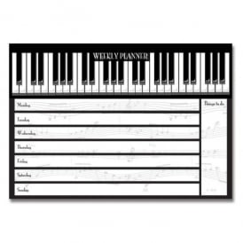 Padblocks Piano Keys Weekly Planner