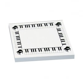 Music Gifts Company Piano Sticky Notes