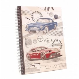 Leonardo Pit Stop Cars A4 Notebook