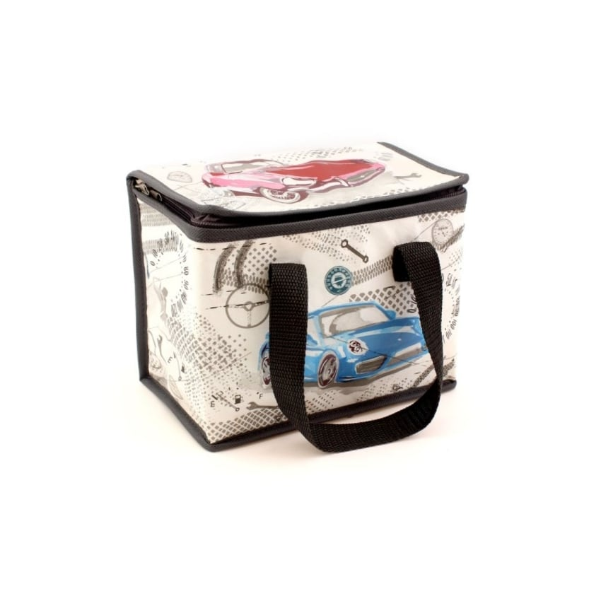 Leonardo Pit Stop Cars Lunch Bag