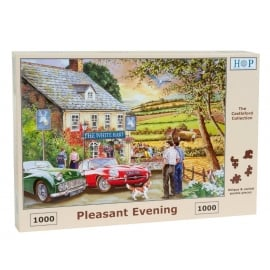 House Of Puzzles Pleasant Evening Jigsaw - 1000 Pieces