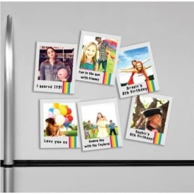 Fizz Creations Polaroid Magnetic Photo Frames