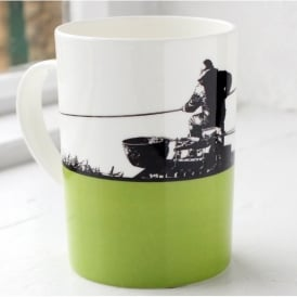 The Art Rooms Pole Fishing Bone China Mug