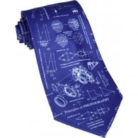 Tie studio Principles Of Photography Blue Tie
