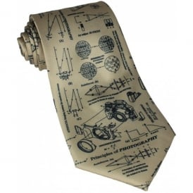 Tie studio Principles Of Photography Gold Tie