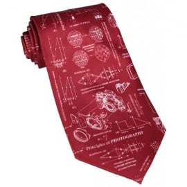 Tie studio Principles Of Photography Red Tie
