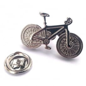 Onyx-Art Racing Bike Lapel Pin