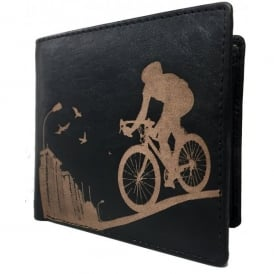 PellMell Racing Bike Leather Card and Coins Wallet