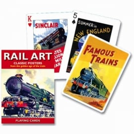 Gibsons Rail Art Playing Cards